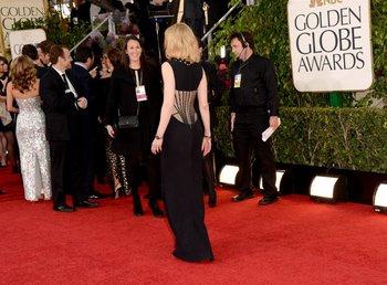 La espalda del vestido de Givenchy que usó Nicole Kidman<br>