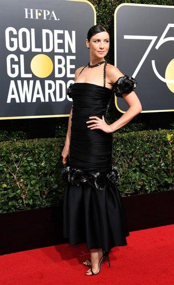 Caitriona Balfe, protagonista de Outlander, en Chanel<br>