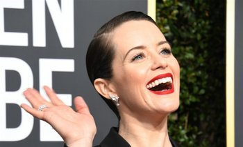 Claire Foy, protagonista de <i>The Crown</i>.<br>