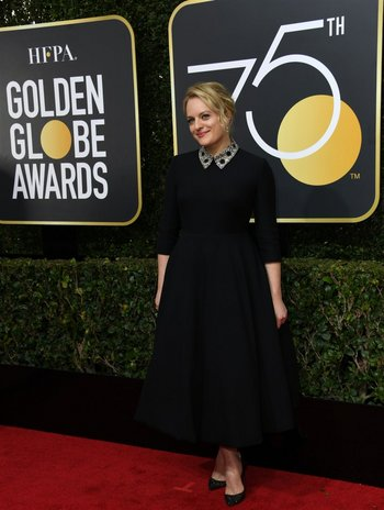 Elisabeth Moss, la ganadora del premio a Mejor Actriz de serie, por <i>The Handmaid´s Tale</i><br>