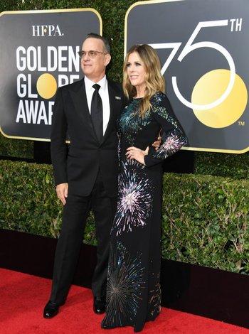 Tom Hanks y Rita Wilson<br>