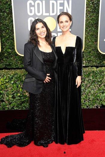 America Ferrara y Natalie Portman<br>