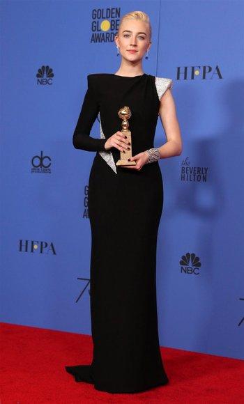Saoirse Ronan ganó el premio a Mejor Actriz por <i>Lady Bird</i><br>