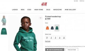 La polémica publicidad que fue retirada de la web de H&M