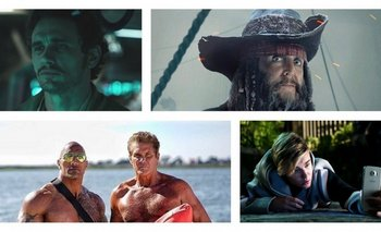 James Franco en Alien: Covenant, Paul McCartney en Piratas del Caribe; David Hasselhoff en Baywatch y Justin Bieber en Zoolander 2.