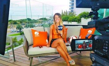 Andy Vila en Enjoy Punta del Este para Fox Sports Verano.