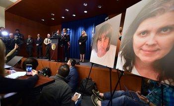 El fiscal de distrito de Riverside describe el caso en una conferencia de prensa<br>
