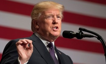 """El presidente Trump amenazó este domingo con aplicar la """"opción nuclear""""<br>"""