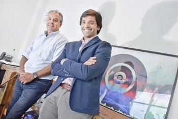 Carlos Crosta y Guillermo Borrazás
