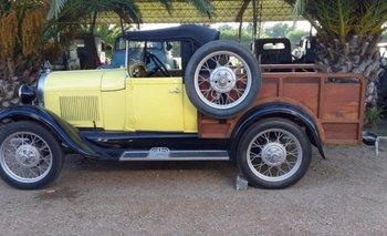 El modelo Ford A es uno de los más económicos para restaurar