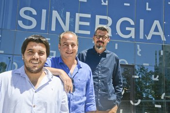 Emiliano Navajas, Ariel Kaplan, Martín Larre