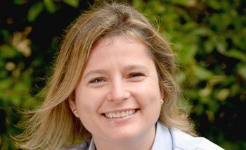 Andrea Bellolio, director ejecutiva de Omeu. <br>