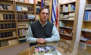Alfredo Lago, presidente de la Asociación Cultivadores de Arroz.<br>