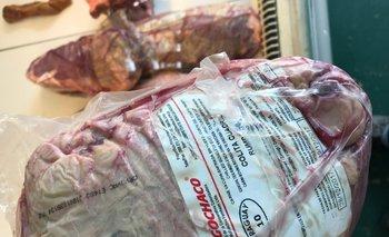 Colita de cuadril de Paraguay que se vende en carnicerías uruguayas<br>
