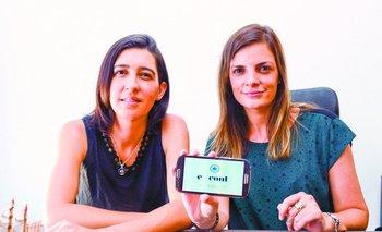 Ana Laura Culshaw y Cecilia Palacio,