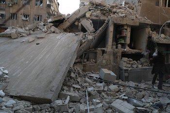La guerra en Siria ha dejado miles de refugiados muertos intentando escapar