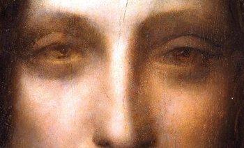 Los ojos de Salvator Mundi, la obra de Leonardo Da Vinci que fue rematada en US$ 450 millones<br>