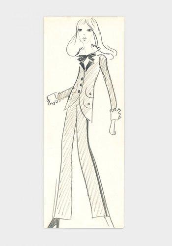 Cuando Saint Laurent creó Le Smoking, en 1966, revolucionó para siempre la vestimenta femenina. Hasta ese momento una mujer con prendas en esencia masculinas era un imposible.
