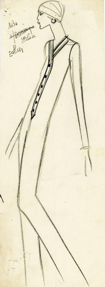 Después de Le Smoking, el creador siguió demostrando que la mujer de pantalones es hipersensual. El mono formó parte de la colección de alta costura de invierno. <br>