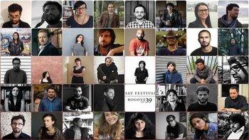 Los 39 seleccionados de América Latina para participar del grupo Bogotá 39 en Hay Festival de Colombia