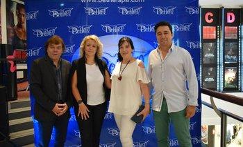 Alvaro Marchand, Jennifer Batista, Lourdes Rapalin y Alvaro Padin