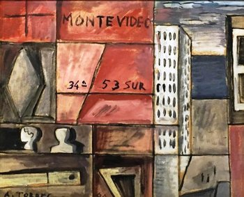 Una obra del pintor Augusto Torres será rematada por Eduardo Corbo el próximo martes 20<br>