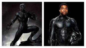 La iconografía sagrada africana fue el punto de partida del traje de<i> Pantera Negra</i>. Pirámides y triángulos son la base para el nuevo diseño del personaje luego de su debut en <i>Capitán América: Civil War</i>