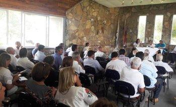 Una buena concurrencia registró la reunión de presidentes de gremiales de la Federación Rural