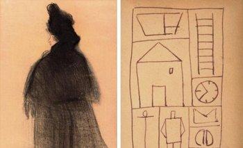 La obra <i>Perfil de Mujer</i> se remate en Madrid, mientras que el dibujo se subasta en La Suite, Barcelona<br>