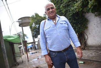 Nelson Sosa, conocido como Cateta, ahora vive en Suecia y volvió al barrio Plácido Ellauri