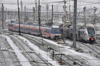 La estación de trenes de Saint Jean en Bordeaux, Francia