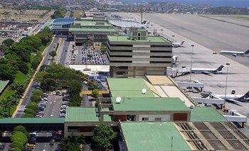 Aeropuerto Internacional de Maiquetia en Caracas<br>