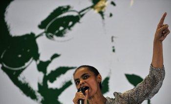 Marina Silva fue perjudicada por las noticias falsas en las elecciones de 2014.