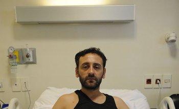 Joan Orrego permanece internado desde el 14 de enero.