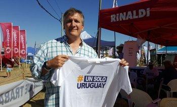 Philip Winter, delegado por Soriano en la organización del movimiento Un solo Uruguay.