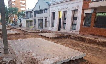Buena parte de la capital está en obras emprendidas por la intendencia.