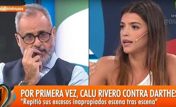Calu Rivero, el lunes, en<i> Intrusos</i>. <br>