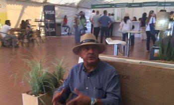 <b>Juan Izquierdo, asesor de Tafirel, en la Expoactiva Nacional </b>