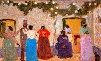 Invitación al matrimonio, una obra del maestro Pedro Figari<br>