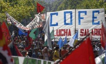Movilización de COFE. (Foto Archivo)