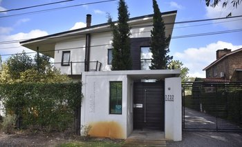 En esta casa de Carrasco se hospedó Mehmet Aydin junto a parte de la banda.