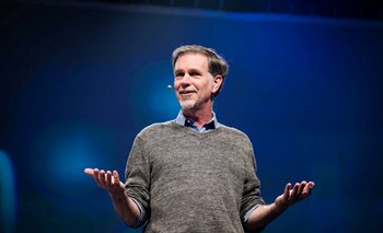 El CEO de Netflix, Reed Hastings