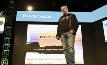 Uri Levine en su charla del MOVE