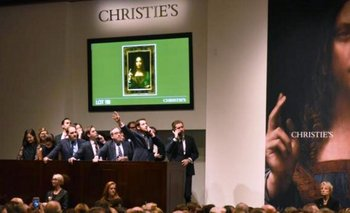 La subasta de la obra de Leonardo Da Vinci en Christie
