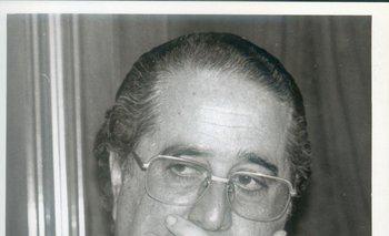 Pablo García Pintos en 1993, cuando era secretario de Presidencia en el período de Lacalle
