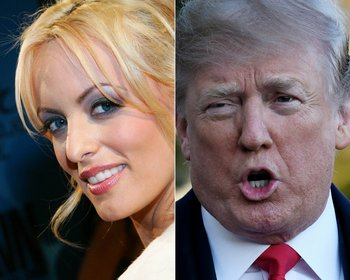 La actriz Daniels que contó su presunta historia con Donald Trump