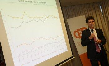 Zuasnabar durante la charla este martes del CED