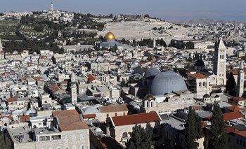 Una vista de Jerusalén