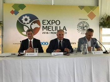 Alejandro Carvalho, Pablo Zerbino y José Saavedra realizaron los anuncios.<br>