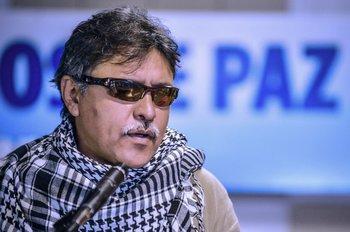 Jesús Santrich, exnegociador de las FARC.